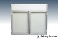 Gablota szklana DS3-F