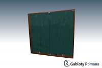 Gablota drewniana 05-SDDB1-VX