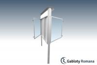 Gablota szklana WDJC13-F