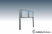 Gablota szklana WDDGT13