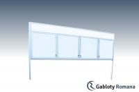 Gablota szklana WDCZB13-F