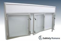 Gablota szklana 02-TSP6-F-XV