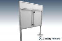 Gablota szklana WDS3-F