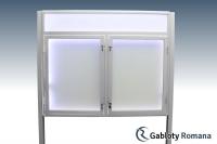 Gablota szklana WDSP6-F