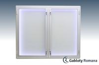 Gablota szklana 75-DSP6-XQ