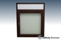 Gablota szklana JBD7-F