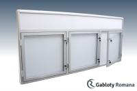 Gablota szklana 16-TS3-F-XZ