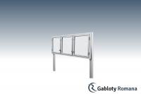Gablota szklana WTS3,2