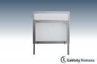 Gablota szklana WJG3,2-F