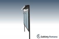 Gablota szklana WTS3-F