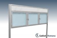 Gablota szklana WTSP6-F