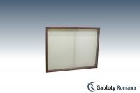 Gablota szklana PD7