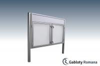 Gablota szklana WDDB13-F