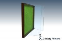 Gablota szklana DSD7H