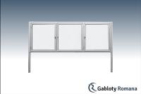 Gablota szklana WTSP6