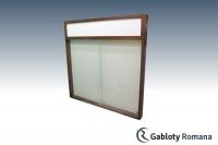 Gablota szklana PD7-F