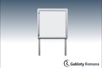 Gablota szklana WJB3
