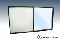 Gablota szklana PD8