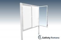 Gablota szklana WDSP6