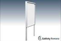 Gablota szklana T5