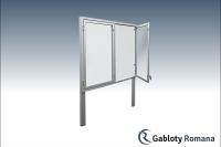 Gablota szklana WDS3,2