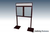 Gablota szklana WDSP6F